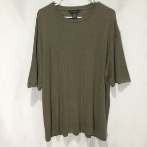 Men J. Ferrar Casual Stripped Shirt (XL)